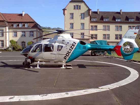 Bavarian State Police Eurocopter EC135 P2, Germany