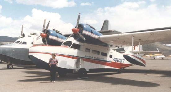 Grumman G.21 of Alaska Island Air in 1989