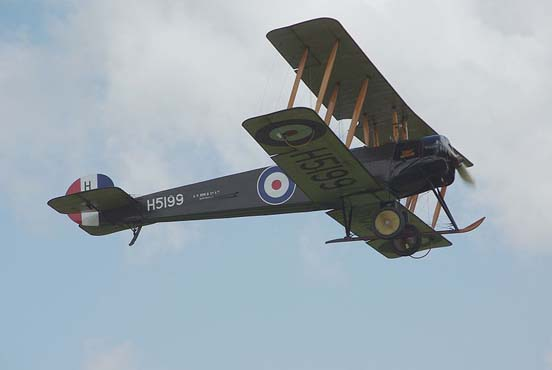 The Shuttleworth Avro 504K