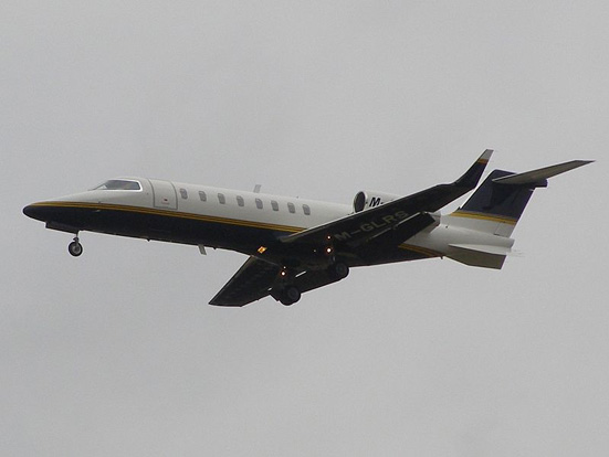 Isle of Man registered Learjet 45