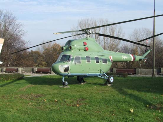 Mi-2P exhibited in Polish Army Museum in Warsaw. Helicopter in markings of the 42 eskadra lotnicza MSWiA based at Warszawa-Bemowo airfield.
