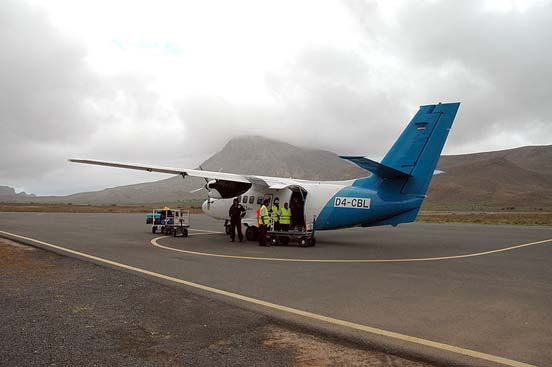 Let L-410 in Cape Verde