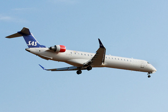 Scandinavian Airlines was a new customer of the CRJ900 in 2008