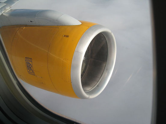 Rolls-Royce RB211-535E4B on an Icelandair Boeing 757-300