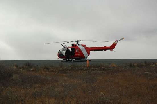 Canadian Coast Guard Bo 105