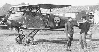 Albatros D.III (Oeffag) series 153, with spinner removed