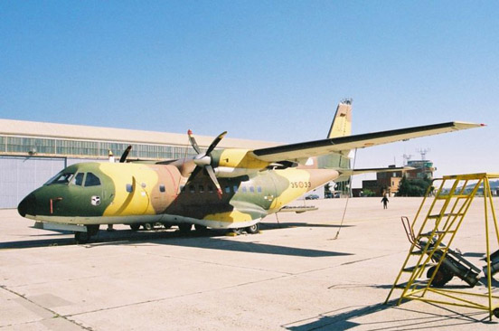 A CASA CN-235 of the Spanish Air Force