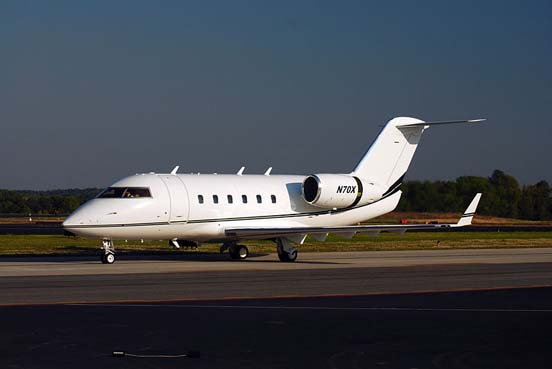 The Challenger 600 experimental