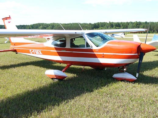 An original 1968 model fixed pitch 150 hp Cessna 177 Cardinal