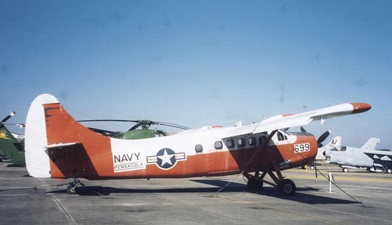 U.S. Navy U-1B (UC-1) Otter at NAS Pensacola, Florida, in 2002