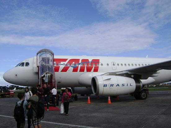 Airbus A319 of TAM Airlines