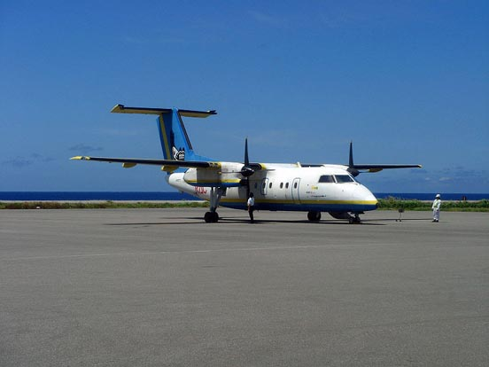 DHC-8-103Q of Ryukyu Air Commuter.