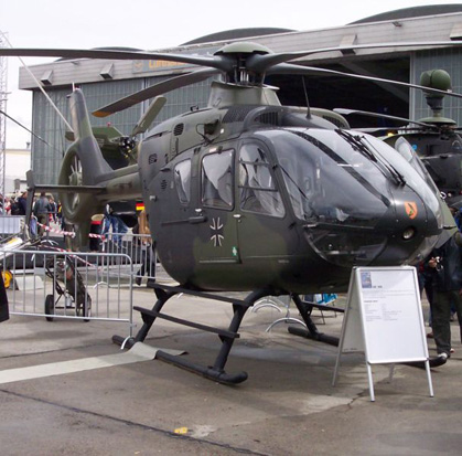 EC135 T1 of the German Army
