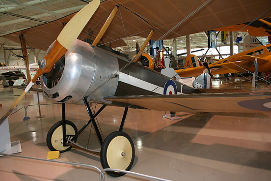 Sopwith Pup replica at the Canadian Warplane Heritage Museum