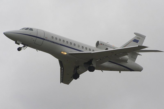 Italian Air Force Falcon 900EX in 2008