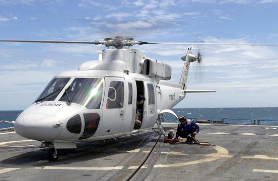 Sikorsky S-76B of the Royal Thai Navy.
