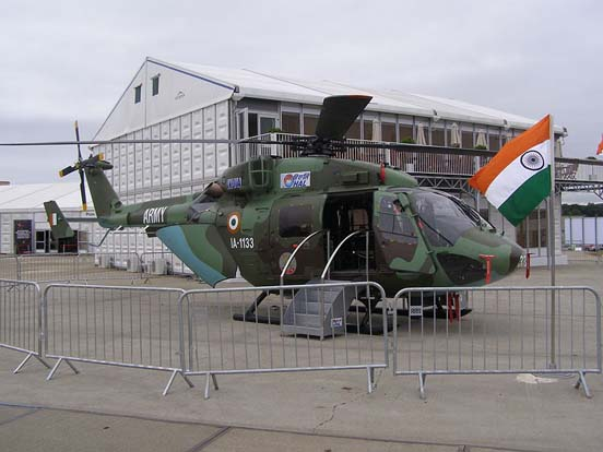 Dhruv of the Indian Army
