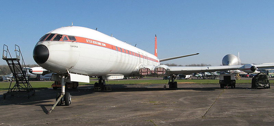Comet 4C Canopus at the British Aviation Heritage Centre, Bruntingthorpe Aerodrome