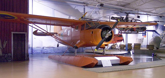 Noorduyn C-64 Norseman, Flygvapenmuseum (The Official Museum of the Swedish Air Force)
