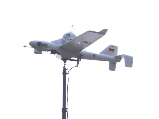 Luna X 2000 UAV for reconnaissance and ESM missions of the German Army