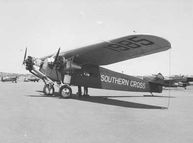 The Southern Cross in 1943.