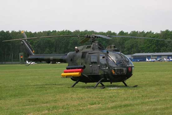 German PAH-1A1 (military version of Bo 105) with special livery.