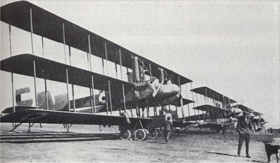 The Ca.52 (Caproni Ca.42) - second production series of Ca.4-Ca.40 family - Aircraft of N°227 Squadron Royal Naval Air Service