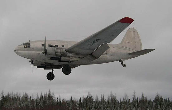 C-46 C-GIBX from First Nations Transportation, c. 2006