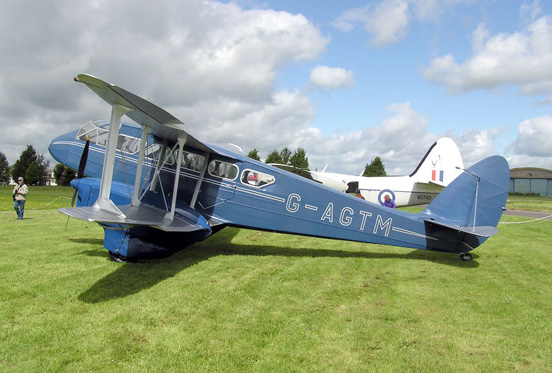 1944 de Havilland DH89a Dragon Rapide 6