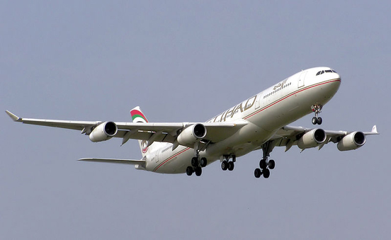 Etihad Airways Airbus 340-300
