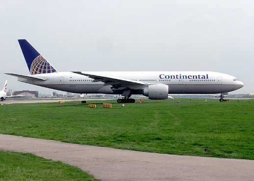 Continental Airlines Boeing 777