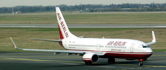 Air Berlin Boeing 737-800