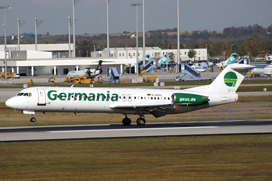 Germania Fokker 100