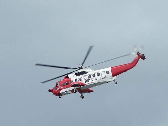 CHC S-61 operated for the Irish Coast Guard