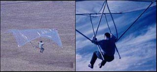 Aeronautical engineer Barry Hill Palmer. First hang glider based on Rogallo's flexible wing. U.S.A., 1961. (Video:[98]).