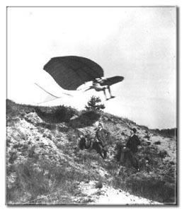 Otto Lilienthal. First documented controlled flights. Germany, 1891.