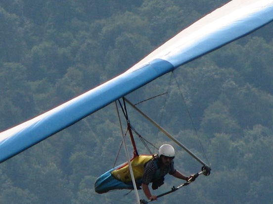 High-performance flexible-wing hang glider. 2006