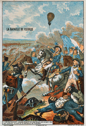 L'Entreprenant at the Battle of Fleurus (1794).