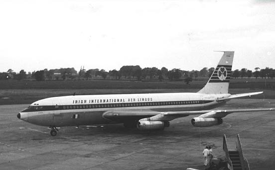 Boeing 720-048 of Aer Lingus-Irish International in 1965