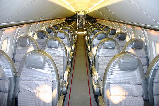 British Airways Concorde interior before 2000