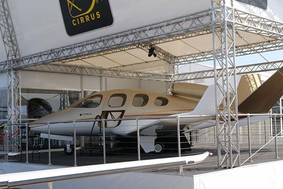Cirrus Vision SF50 single engine very light jet