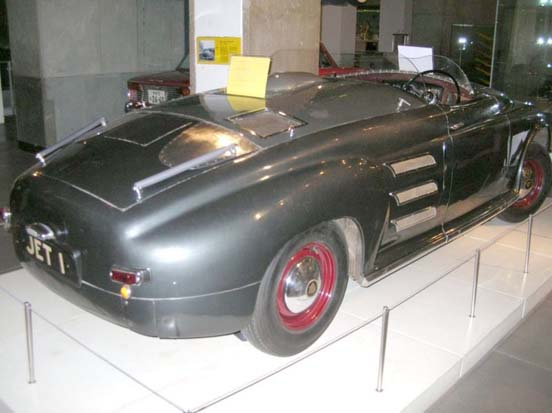 The 1950 Rover JET1