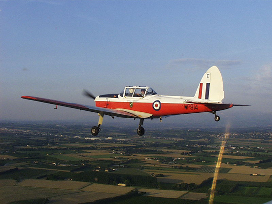 A De Havilland Chipmunk T10 - as used for