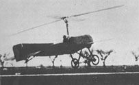 The first autogyro to fly successfully (1923)