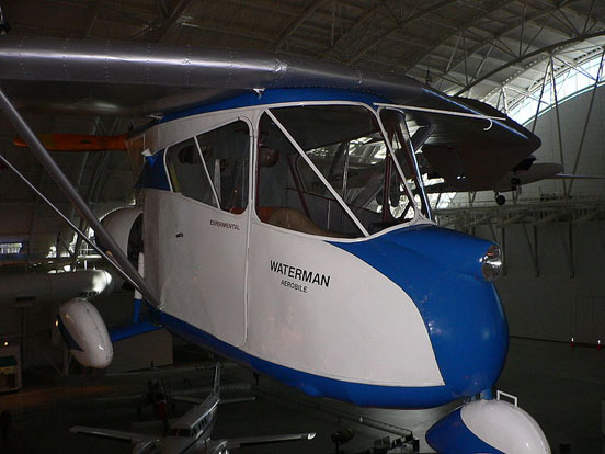 The Waterman Aerobile at the Smithsonian.