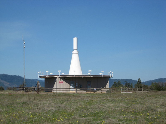 VOR located on Upper Table Rock in Jackson County, Oregon