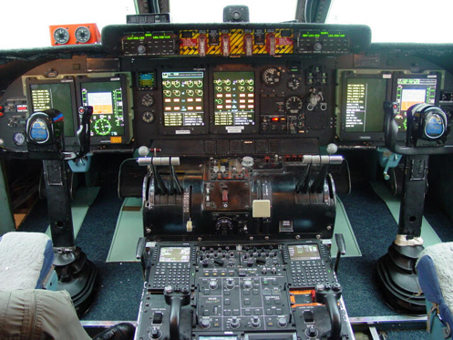 New instrument panel for C-5 as part of AMP program.