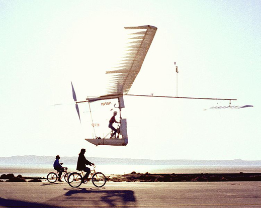 Gossamer Albatross, a human-powered aircraft