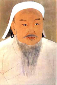 Genghis Khan's Mongols spread Chinese technology