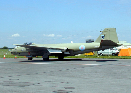 English Electric Canberra PR.9 photo reconnaissance aircraft